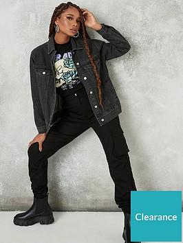 missguided-missguidednbspoversized-denim-jacket-black