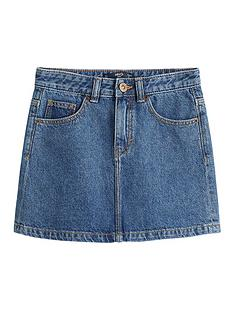 mango-girls-denim-skirt-blue