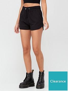 missguided-missguidednbsptie-waist-runner-short-black