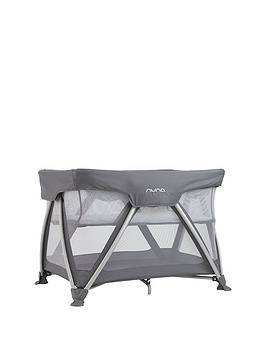 nuna-sena-graphite-travel-cot