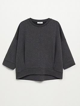 mango-basic-jersey-sweat-top-grey