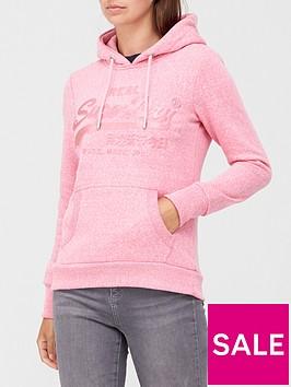 superdry-vintage-label-tonal-embossed-slim-fit-hoodie-pink
