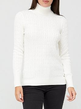 superdry-croyde-cable-roll-neck-jumper-white