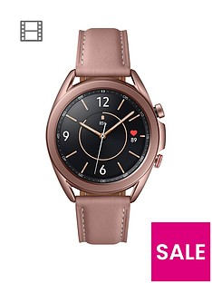 prod1089608449: Galaxy Watch 3 41mm 4G - Mystic Bronze