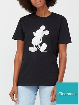 v-by-very-foil-print-mickey-graphic-t-shirt-black