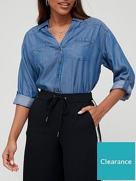 v-by-very-soft-touch-denim-casual-shirt-dark-wash