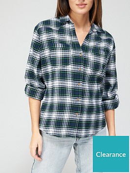 v-by-very-valuenbspcheck-flannel-casual-shirt-greennbspcheck