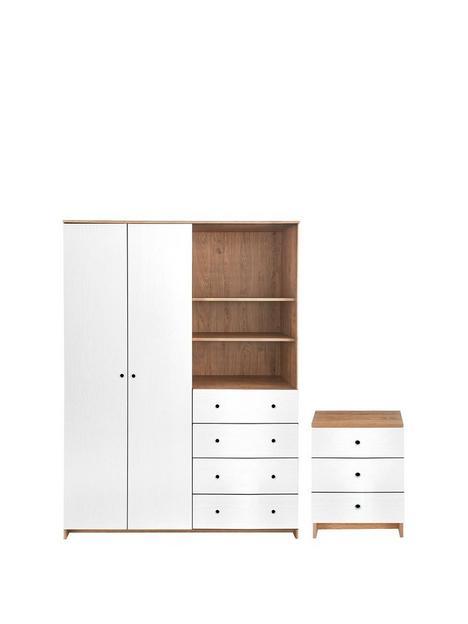 siena-2-piecenbsppackage-2-door-4-drawer-wardrobenbsp-3-drawer-bedside-chest--nbspoakwhite