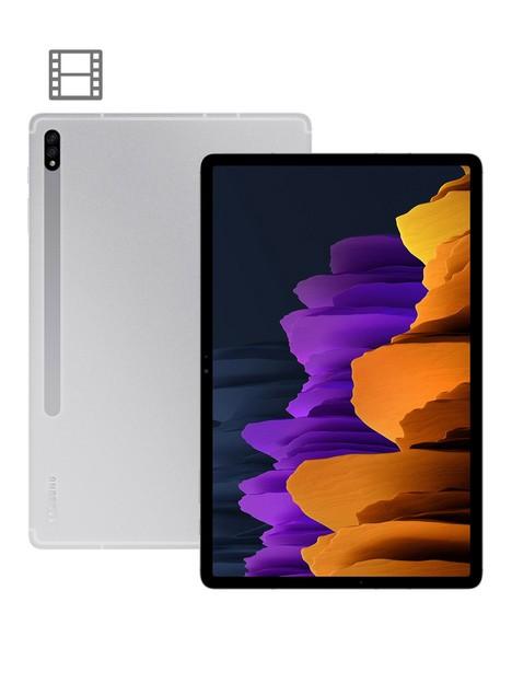samsung-galaxy-tab-s7-plus-5g-128gb-124-inch-ultra-hd-tablet-silver