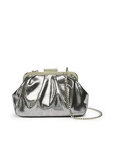 ted-baker-metallic-crinkle-frame-evening-bag-silver