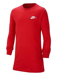 nike-boys-nsw-long-sleevenbspembroidered-futura-t-shirt-red