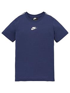 nike-boys-nsw-repeat-short-sleeve-tee-navy-white