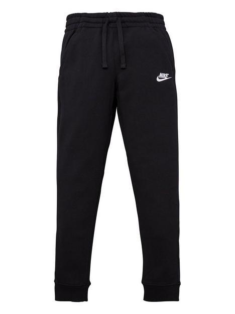 nike-boys-nsw-club-ft-jogger-pants-blackwhite