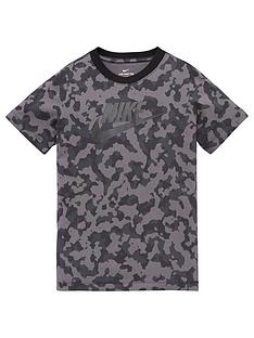 nike-boys-nsw-futura-tee-grey