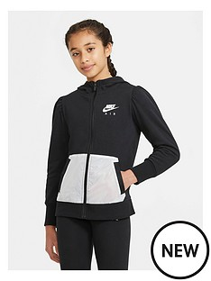 nike-girls-nswnbspair-french-terry-full-zipnbsphoodie-blackwhite