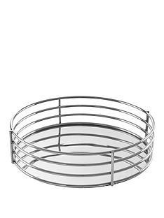 premier-housewares-astro-silver-round-tray