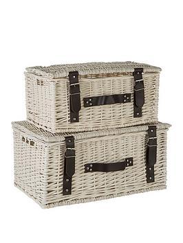 premier-housewares-set-of-2-white-willow-baskets