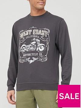 very-man-printed-crew-necknbspsweatshirt-black