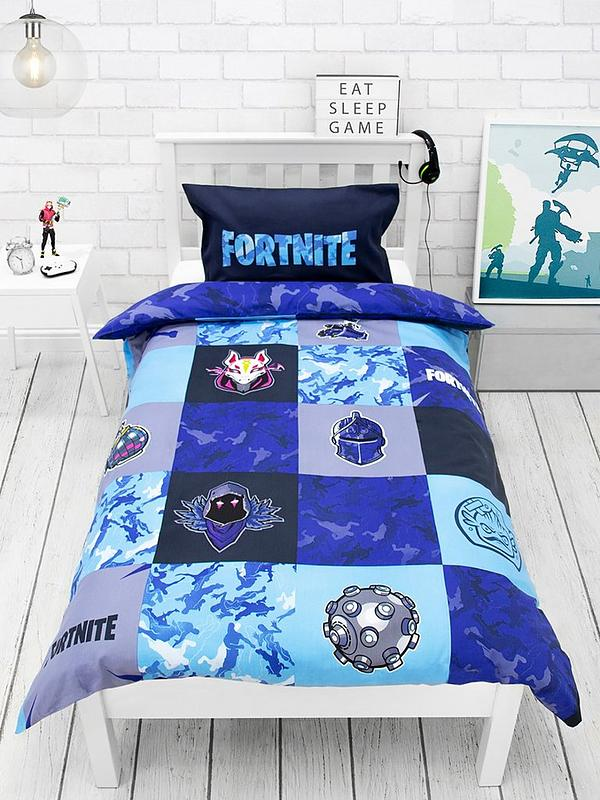 Fortnite Shuffles Single Duvet Cover, What Size Is A Single Bed Cover