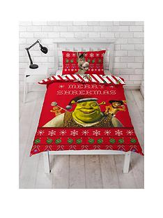 shrek-merry-shrekmas-single-duvet-cover-set