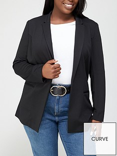 v-by-very-curve-stretch-longline-blazer-black