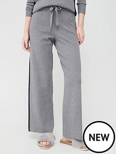 v-by-very-valuenbspwide-leg-side-panel-knittednbsptrouser-greyblack