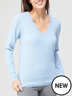 v-by-very-value-super-soft-v-neck-deep-rib-hem-knittednbspjumper-light-blue