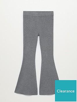 mango-knitted-wide-leg-trousers-grey