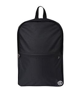 henri-lloyd-logo-backpack-black