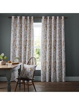 ashley-wilde-emily-ochre-eyelet-curtains