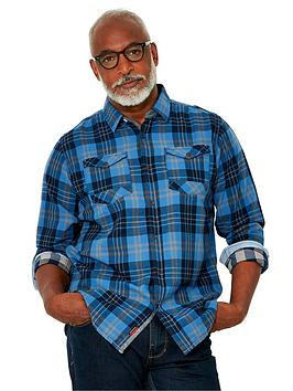 joe-browns-cool-and-confident-check-shirt-blue