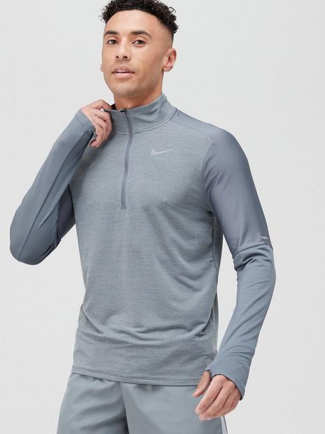 nike-running-element-12-zip-top-grey