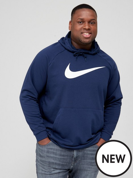 nike-training-plus-size-dry-pullover-swoosh-hoodie-navy