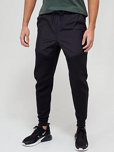 nike-tech-fleecenylon-mix-pants-black