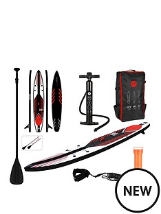 pure4fun-racing-sup-inflatable-stand-up-paddle-board-complete-set