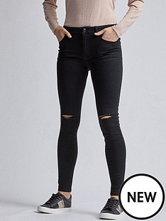 dorothy-perkins-regular-length-rip-alex-jeans--nbspblacknbsp