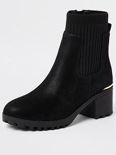 river-island-girls-heeled-bootsnbsp--black