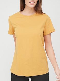 v-by-very-valuenbsproll-sleeve-boyfriend-t-shirt-mustard