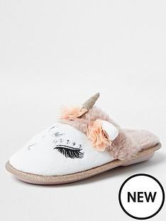 river-island-girls-glam-unicorn-slippers--nbspwhite