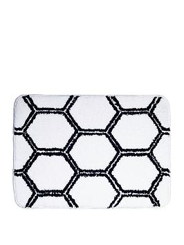 aqualona-honeycomb-microfibre-bath-mat