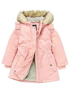 v-by-very-girls-faux-fur-lined-parka-pink