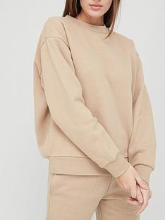 v-by-very-valuenbspbasic-crew-neck-sweatshirt-nude
