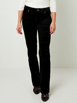 joe-browns-cord-bootcut-jeans-black