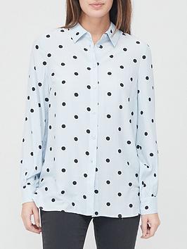 v-by-very-spot-print-shirt-blue