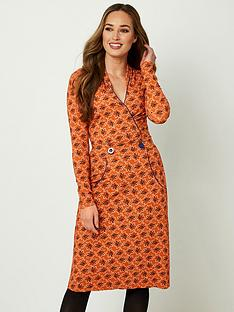 joe-browns-crafty-collar-dress-burnt-orange