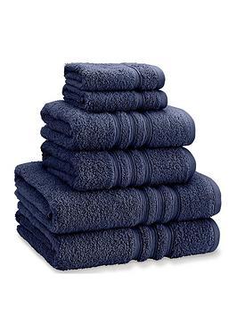 catherine-lansfield-nbspzero-twist-6-piece-towel-bale-navy