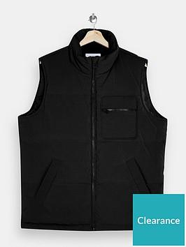 topman-fuji-padded-gilet-black