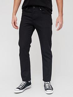 topman-black-straight-fit-jeans-black