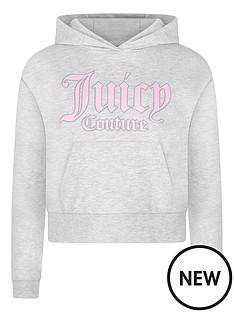 juicy-couture-girls-hoodie-grey-marl