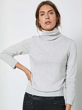mint-velvet-fitted-layering-jumper-silvergrey